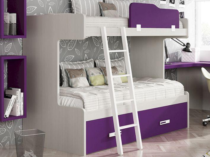 Litera tres camas o cajones   Quatro Muebles Juveniles